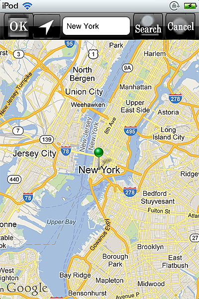 horoscope JIKU astrology astrologer iPhone map new york small