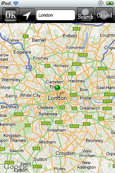 horoscope JIKU astrology astrologer iPhone map london small