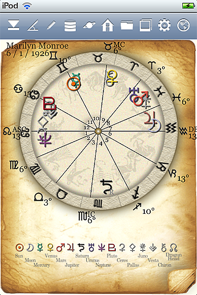horoscope JIKU astrology astrologer iPhone screenshot top icon2