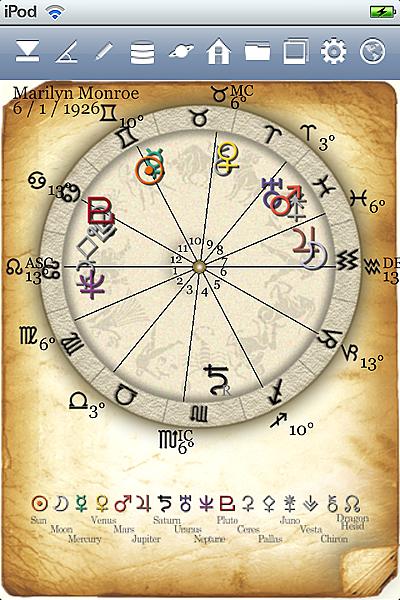 horoscope JIKU astrology astrologer iPhone screenshot top icon2
