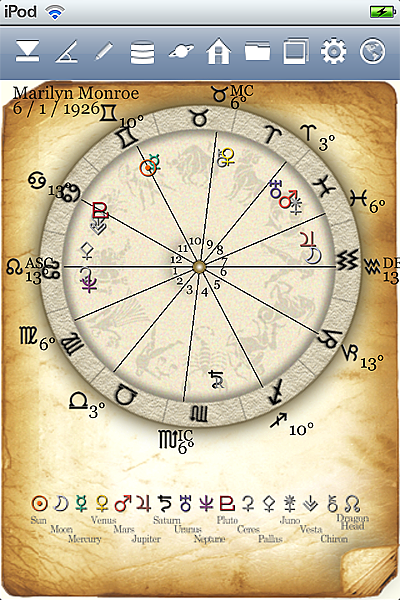 horoscope JIKU astrology astrologer iPhone screenshot top icon1