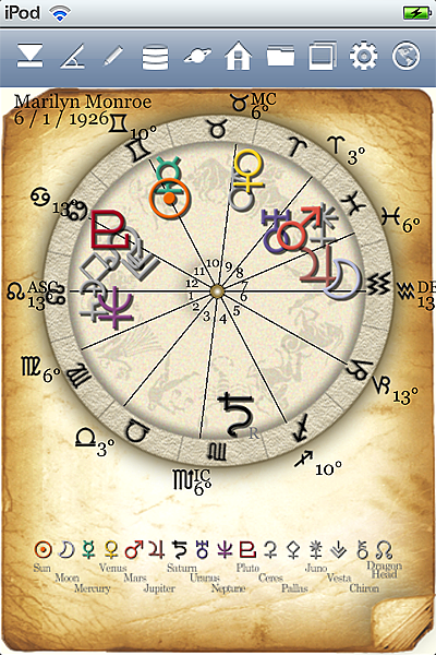 horoscope JIKU astrology astrologer iPhone screenshot top icon3