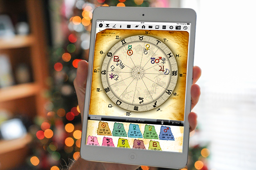 horoscopeJIKU for iPad astrology fortune-telling divination free astrologer app software catch-up