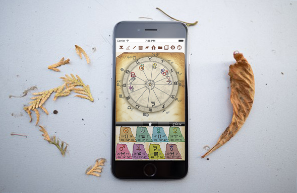 horoscopeJIKU for iPhone astrology fortune-telling divination free astrologer app software catch-up