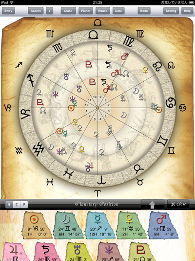 birth chart horoscope free daily zodiac astrology PLANT horoscope app for astrologer